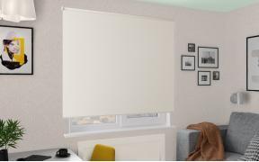 Рулонные шторы MGII СИДЕ BLACK-OUT 2259 цв.магнолия, 280 см