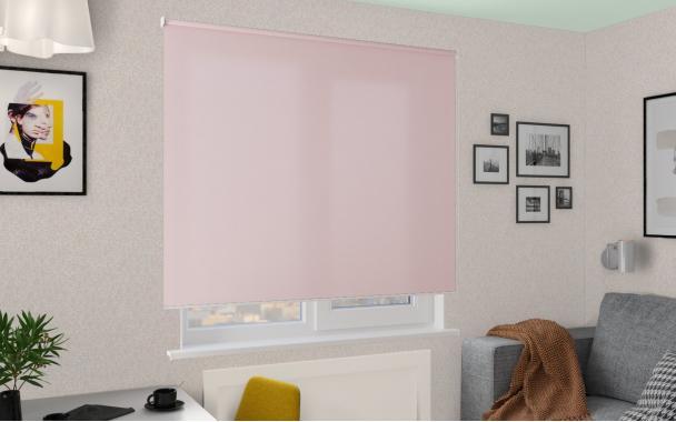 Рулонные шторы MGII ПЕРЛ 4080 цв.св.розовый