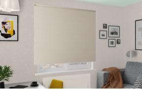 Рулонные шторы MGII ЮТА BLACK-OUT 2406 цв.бежевый, 290 см