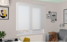 Рулонные шторы MGII НИКА 0225 белый, 220 см