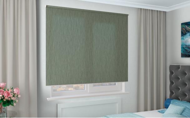 Рулонные шторы MGII НОВА 5850 цв.зеленый