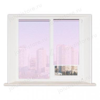 Рулонные шторы MINI АЛЬФА 4082 цв.розовый