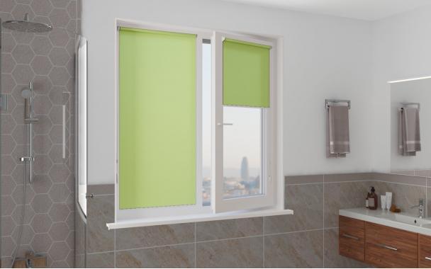 Рулонные шторы MINI АЛЬФА 5850 цв.зелёный