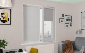 Рулонные шторы MINI ЛИНА BLACK-OUT 2261 св. бежевый, 220 см