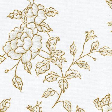 Рулонные шторы UNI2 КИТАЙСКАЯ РОЗА 2870 цв.коричневый