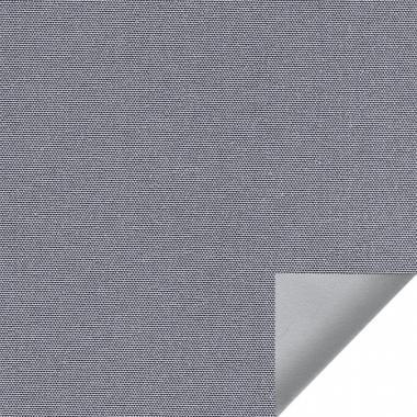 Рулонные шторы UNI2 АЛЬФА ALU BLACK-OUT 1852 цв.серый