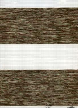 Рулонные шторы UNI2-ZEBRA ЭТНИК 5921, зелёный