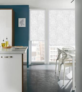 Рулонные шторы UNI1 АВЕНСИС 0225 цв.белый