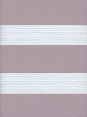 Рулонные шторы MINI-ZEBRA СОФТ 4290 дымчато-лиловый