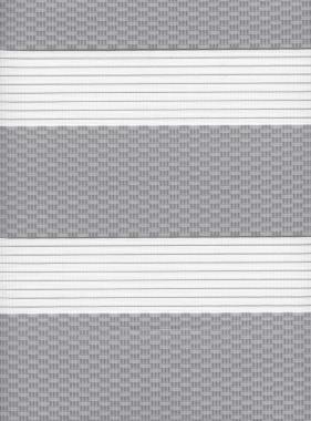 Рулонные шторы MGS-ZEBRA ТЕТРИС 1852, серый