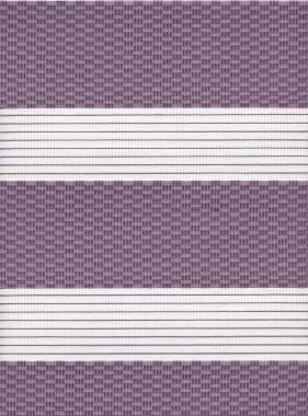 Рулонные шторы UNI2-ZEBRA ТЕТРИС 4284, лиловый