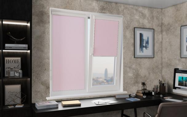 Рулонные шторы ЧЕЛСИ UNI2 4082 цв.св. розовый
