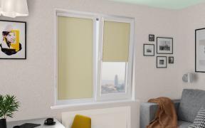 Рулонные шторы UNI1 ПЕРЛ 5879 цв.оливковый, 250 см
