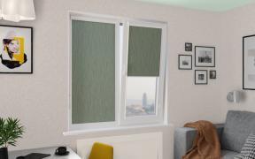 Рулонные шторы UNI2 НОВА 5850 цв.зеленый, 200 см