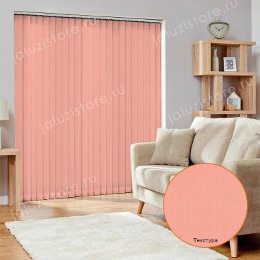 Жалюзи вертикальные ЛАЙН II 4264 цв.тём.розовый 89мм