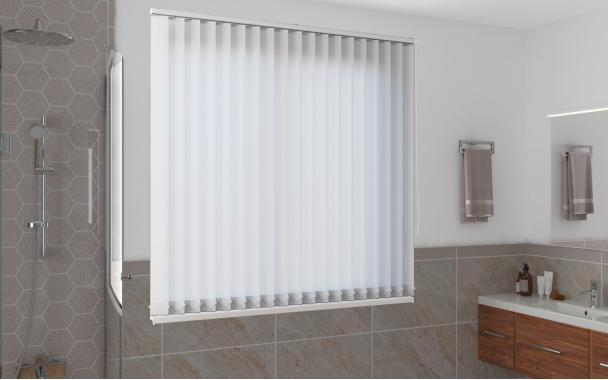 Жалюзи вертикальные СИДЕ 0225 цв.белый, 89мм