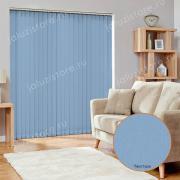 Жалюзи вертикальные СИДЕ 5252 цв.голубой 89мм