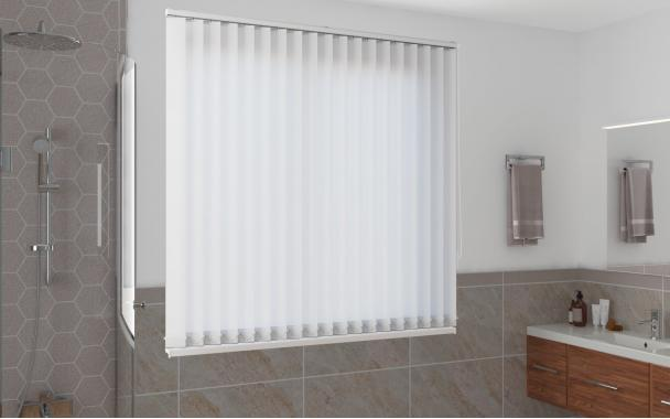 Жалюзи вертикальные СЕУЛ 0225 цв.белый, 89мм