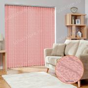 Жалюзи вертикальные БАЛИ 4096 цв.розовый 89мм