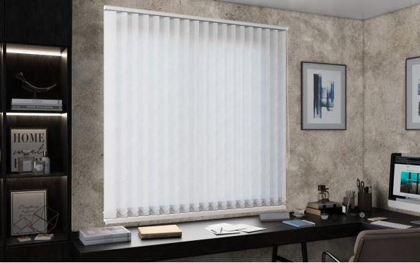 Жалюзи вертикальные РИО 0225 цв.белый, 89мм