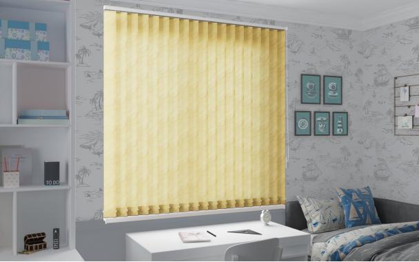 Жалюзи вертикальные РИО 4210 цв.св.жёлтый, 89мм
