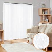 Жалюзи вертикальные АРИЗОНА BLACK-OUT 0225 цв.белый 89 мм
