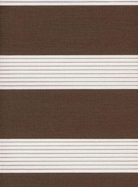 Рулонные шторы MINI-ZEBRA СТАНДАРТ 2870 коричневый