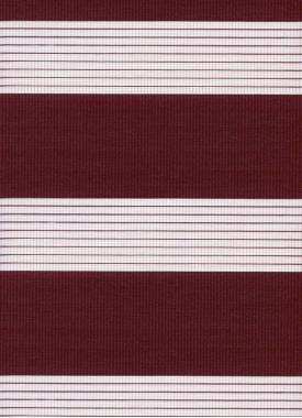 Рулонные шторы UNI2-ZEBRA СТАНДАРТ 4453 брусничный