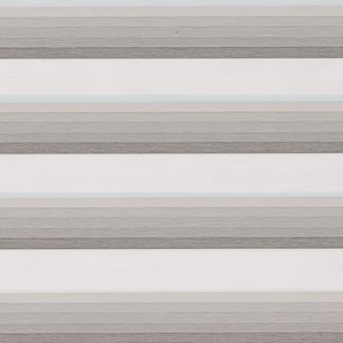 Рулонные шторы MINI-ZEBRA СТЕП 1852 серый