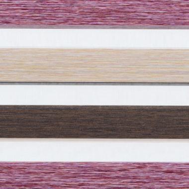 Рулонные шторы MGS-ZEBRA ДАЙКИРИ 4858, вишневый