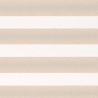 Рулонные шторы MINI-ZEBRA АРАБЕСКА 2259, магнолия